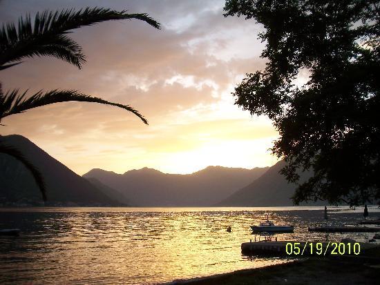 Dobrota, Montenegro: Sunset