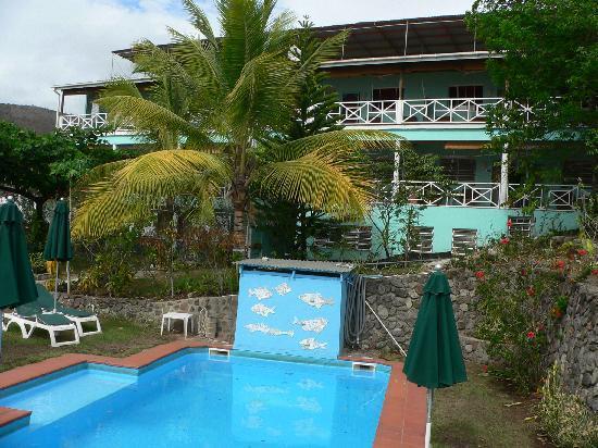 The Tamarind Tree Hotel & Restaurant : blick auf das hotel