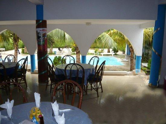 Porto-Novo, Benin: La piscine