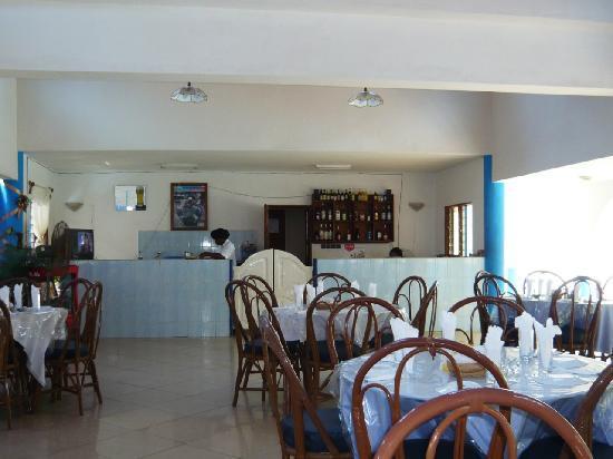 Porto-Novo, Benín: Le restaurant