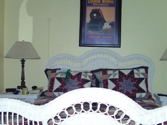 Bullis House Inn: das Zimmer