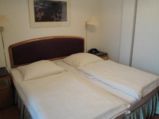 Hotel Bellevue-Terminus: Doppelzimmer
