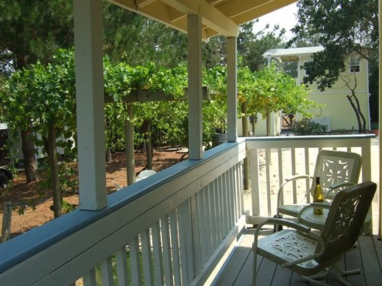 Windsor, Kalifornia: Garden Suite Porch