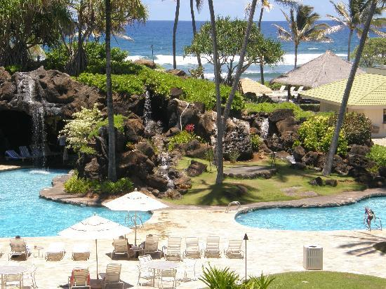 Kauai Beach Resort: view from our room