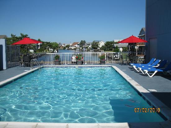 Fenwick Islander Motel: Relax at our Pool on the Canal