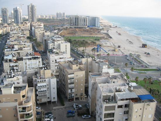 Bat Yam, Israel: View from Room 1506