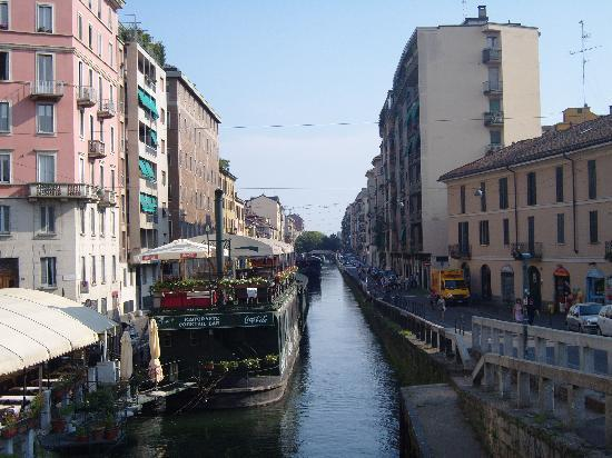 Milano, Italien: canal