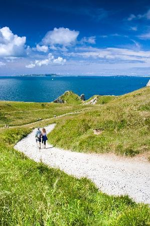 Bindon Bottom B&B: Walk to Durdle Door