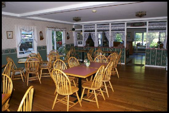 Berkshire Hills Country Inn : Breakfast nook