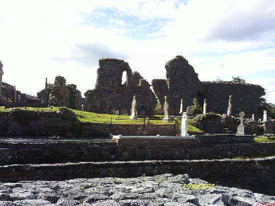Donegal Town, Irland: Abbey Ruins, Donegal