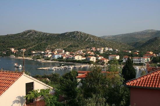 Villa Vrbat : view from the balcony