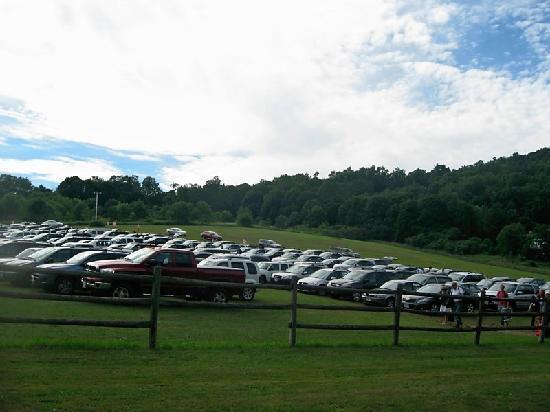 Tanglewood : parking
