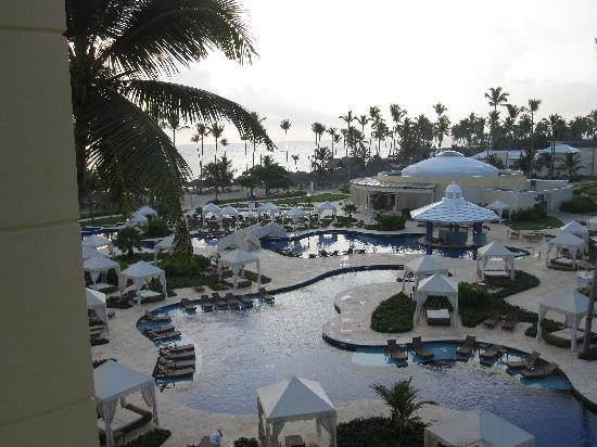 Iberostar Grand Hotel Bavaro : Resort first thing in the morning