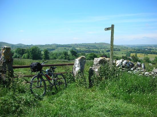 Tom's Barn and Douglas's Barn: cycling route