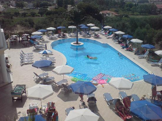 Zante Star: Birds eye view