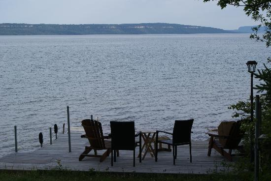 Eldorado Beach on Lake Superior Bed and Breakfast: View from backyard