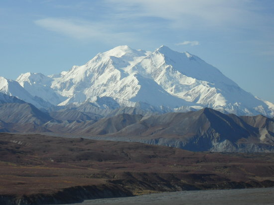 Denali National Park and Preserve, AK: Mt. McKinley from Eielson, Sept. 2009