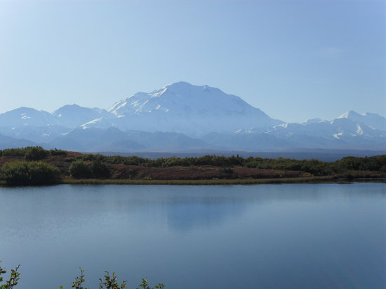 Denali National Park and Preserve, AK: Mt. McKinley from Wonder Lake