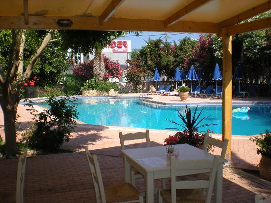 Lefka Apartments: View of the excellent swimming pool