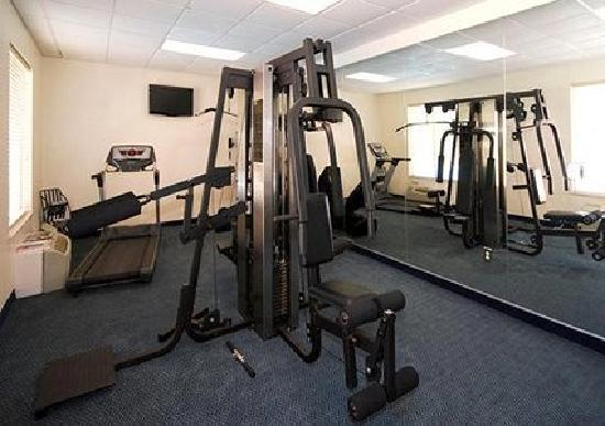 Stay fit in our onsite fitness room when you visit Comfort Inn Rocky Mount.