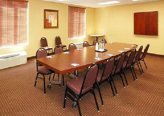Comfort Inn Rocky Mount: Our meeting facility can accommodate small functions and offers seating for 12-15 people.