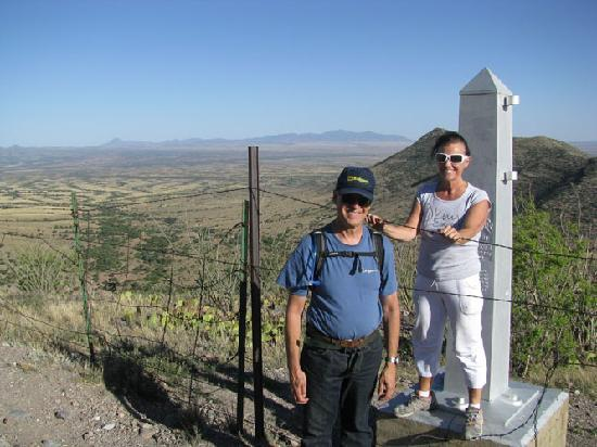 Patagonia, AZ: The Border Monument at Montezuma Pass