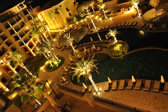 Casa Dorada Los Cabos Resort & Spa: Night view from balcony
