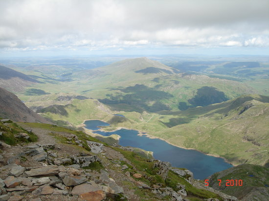 Портмадог, UK: View from Snowdon (pick a clear day)