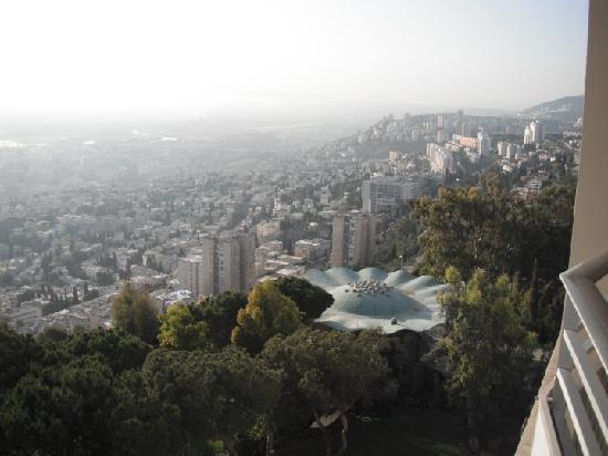 Dan Carmel Haifa: view from the room