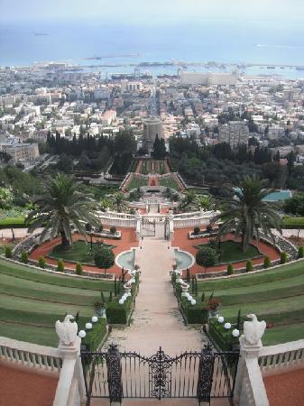 Dan Carmel Haifa: The Baha'i Gardens, about a 30 second walk from the hotel