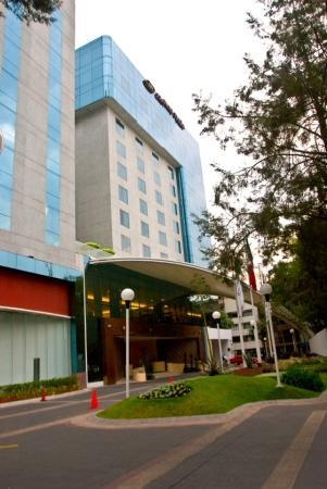 Crowne Plaza Hotel de Mexico: fachade