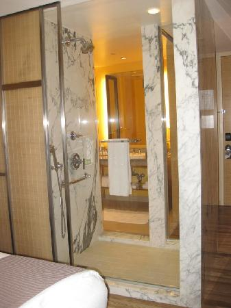 Glass Shower Window With Bamboo Sliding Shade Picture Of West 57th