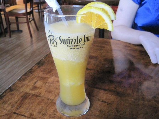 Swizzle Inn: rum swizzle