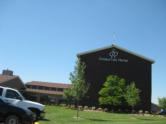 Doubletree Collinsville/St. Louis: leaving the hotel