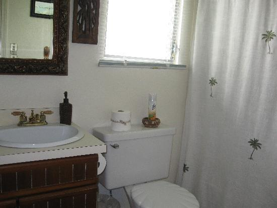 Coconut Cottage Bed & Breakfast: CC Bathroom
