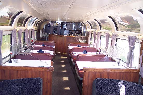 Coast Starlight: Parlor Car (for sleeper passengers only)