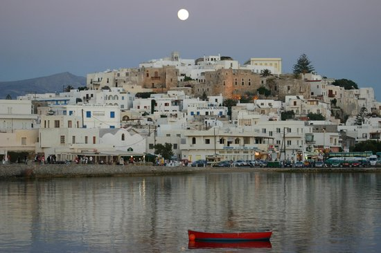 Naxos, Greece: Full Moon