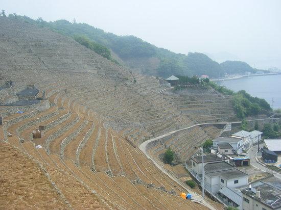 Uwajima, Japão: 絶景の全景ドーーーーン!!