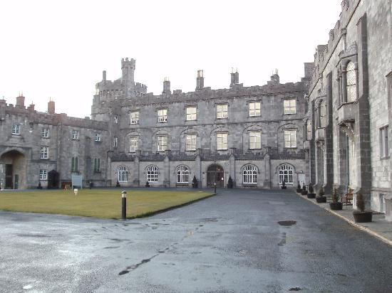 Kilkenny, Ireland: The back view of the castle