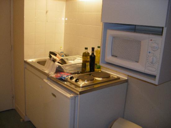 Appart'City Lyon Part-Dieu Villette : Cocina