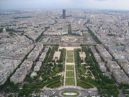 ปารีส, ฝรั่งเศส: Paris desde la torre Eifel