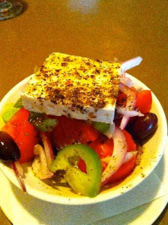 Calypso's Taverna: Greek salad