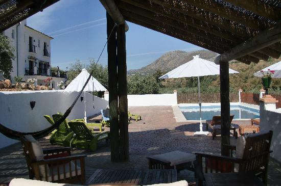 Casa Olea : Pool & house view