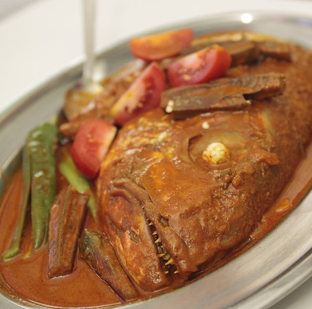 Jothy's Fish Head Curry and Banana Leaf Restaurant: Signature Dish - Fish Head Curry