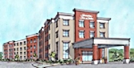 Hampton Inn & Suites Exeter: Hotel Rendering - Opening in August!