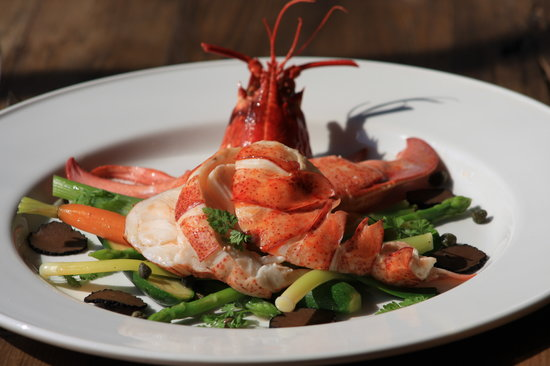 Crescent Road Restaurant: Native Lobsters caught off the Sussex Coast
