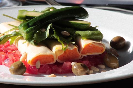 Crescent Road Restaurant: Vegetarian - Handmade Butternut Squash Cannelloni