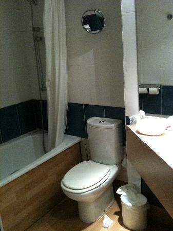 BEST WESTERN Crequi Lyon Part Dieu: Decent bathroom