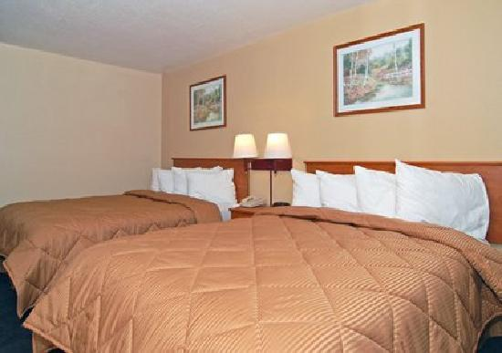 Quality Inn Kennedy Space Center: Double Room