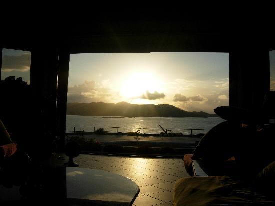Villa Fantasia: Sunrise from Fantasia Living Room